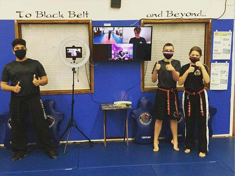 virtual martial arts training in whitestone