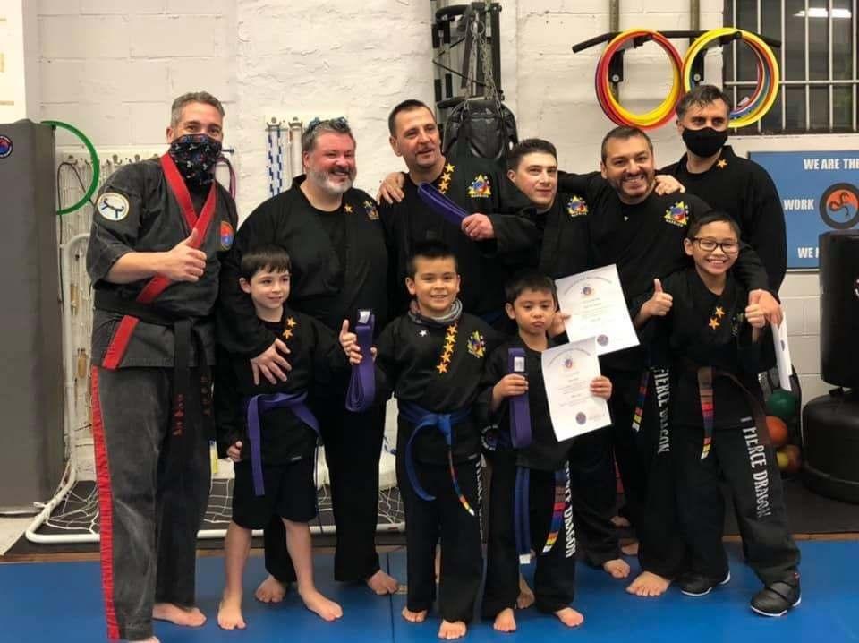 Family, Fierce Dragon Martial Arts Academy Whitestone NY